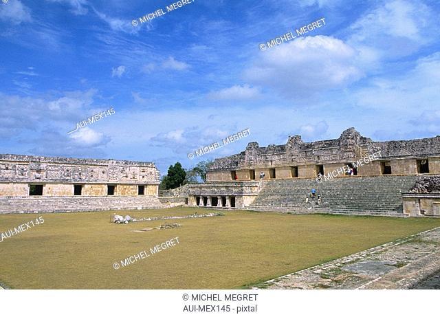 Mexico - Yucatan - Uxmal - The Nunnery Quadrangle