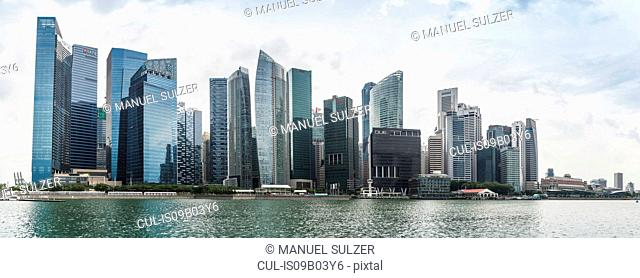 Singapore skyline, Marina Bay
