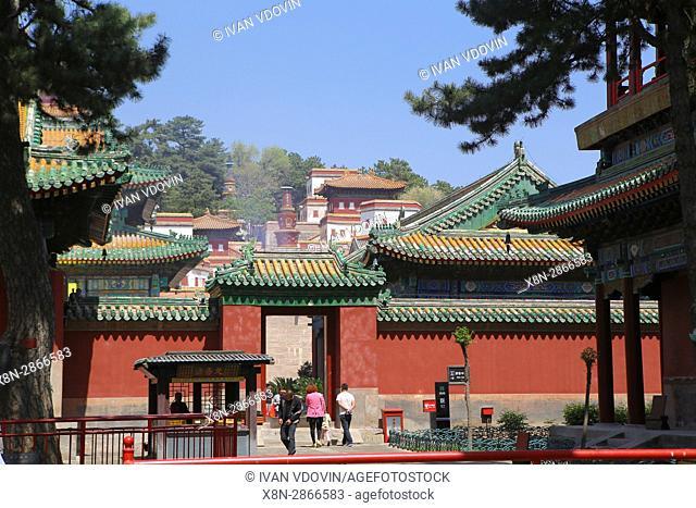 Punin temple (1755), Chengde, China