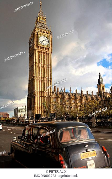 England, London, palace of Westminster and Big Ben