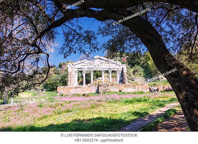 Monument of Agonothetes in Apollonia, Albania