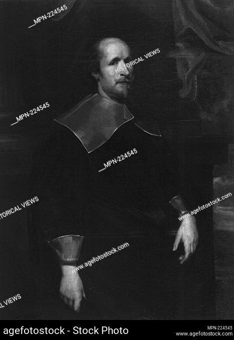 Portrait of a Man - 1625/30 - Follower of Anthony van Dyck Flemish, 1599-1641 - Artist: Follower of Anthonie van Dyck, Origin: Genoa, Date: 1625–1630
