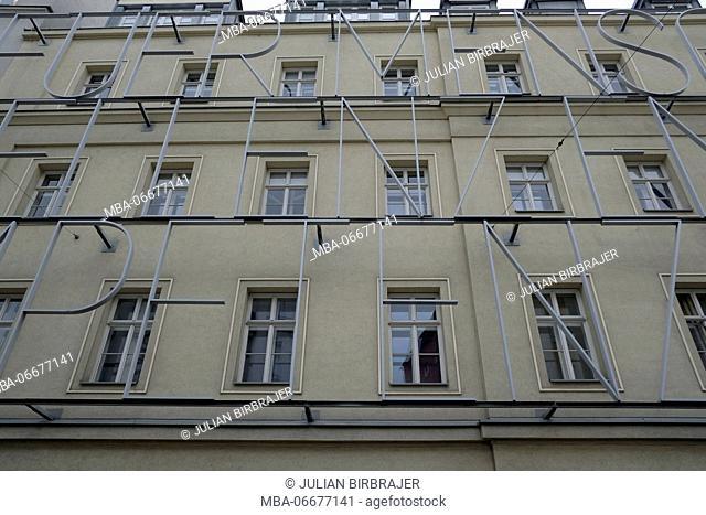 Europe, Austria, Vienna, capital, polytechnic school, facade