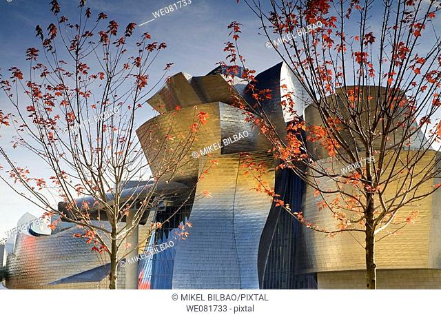 Guggenheim Museum of Art, Bilbao, Biscay, Basque Country, Spain