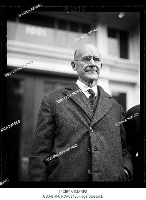 Eugene V. Debs, Labor Leader and Socialist Candidate for U.S. President, Portrait, Washington DC, USA, Harris & Ewing, 1922