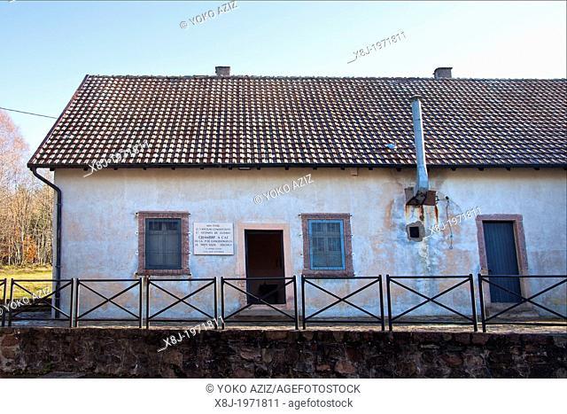 Alsace, Natzweiler Struthof camp, Gas chamber