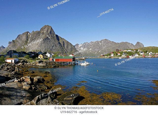 Reine, Lofoten Islands, Norway, Europe