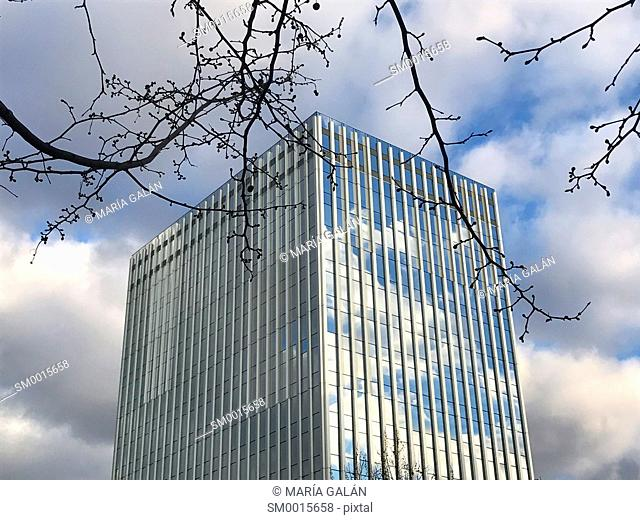Office building. Serrano street, Madrid, Spain