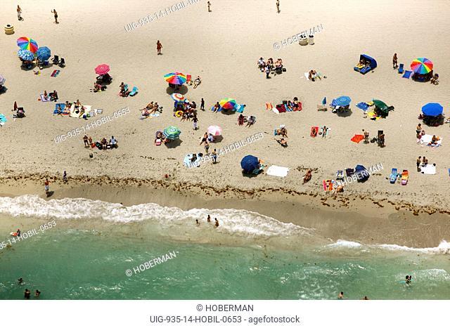 Sunbathers, Florida