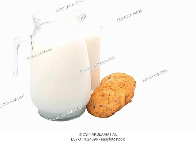 Milk and Home Made Cookies