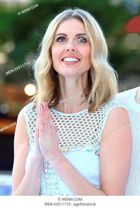 Dancing On Ice 2018 photocall at the Natural History Museum Ice Rink Featuring: Donna Air Where: London, United Kingdom When: 19 Dec 2017 Credit: WENN