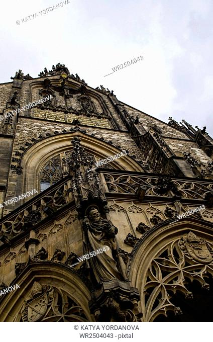 The Cathedral of Saints Peter and Paul, Brno, South Moravia, Czech Republic