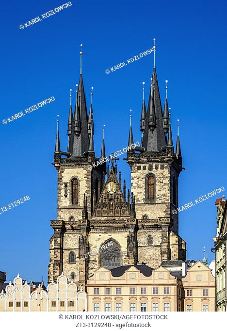 Church of Our Lady before Tyn, Prague, Bohemia Region, Czech Republic