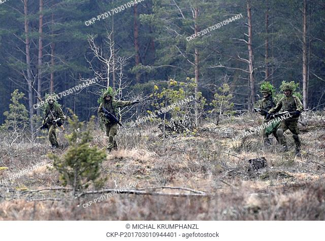 The Czech military may become part of the NATO multinational forces in Lithuania and Estonia in 2018, Czech Defence Minister Martin Stropnicky said today during...