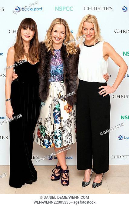 Paddington Trail auction held at Christie's in London - Arrivals Featuring: Annabelle Neilson, Marissa Hermer, Lady Julie Montagu Where: London