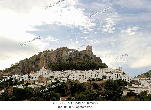 Mountain village, Rota, Andalusia, Spain, Europe