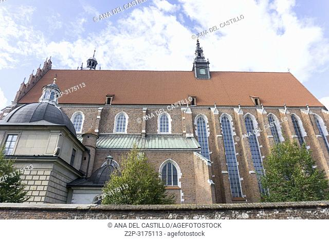 Corpus Christi church in Krakow Poland