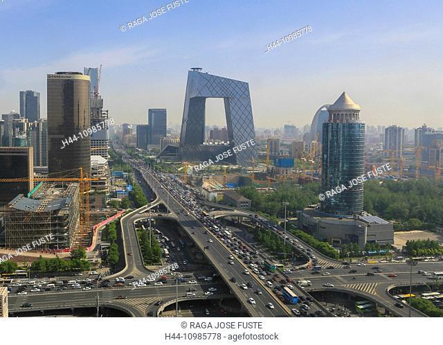 Guomao District in Beijing