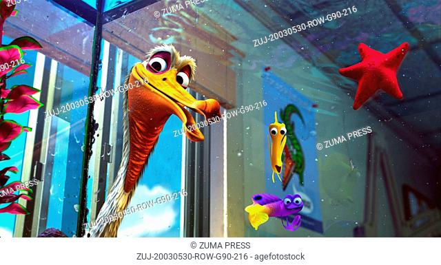 May 30, 2003; Richmond, CA, USA; With the voices of ALBERT BROOKS as Marlin, ELLEN DeGENERES as Dory,ALEXANDER GOULD as Nemo and WILLEM DAFOE as Gill in...