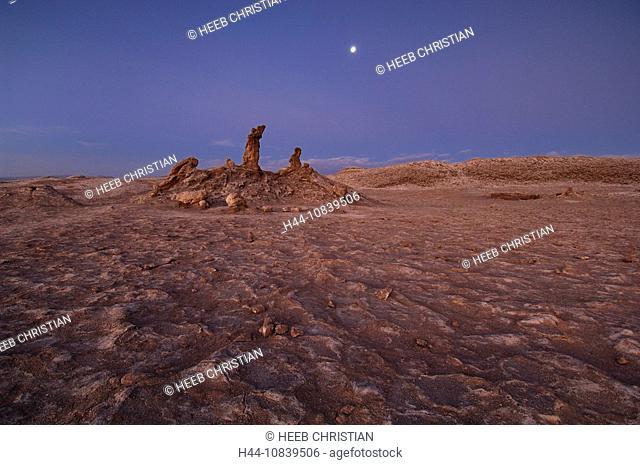 Chile, South America, Tres Marias, Valle de la Luna, Atacama Desert, Desert, San Pedro de Atacama, Altiplano, Antofaga