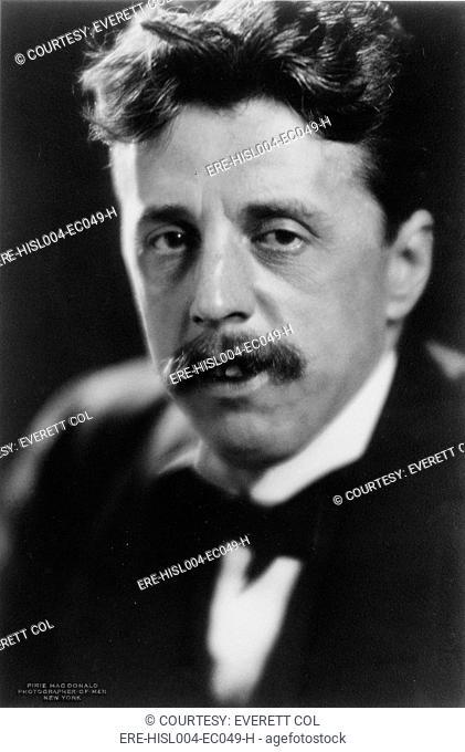 Arnold Bennett 1867-1931 versatile British writer, novelist, critic and playwright