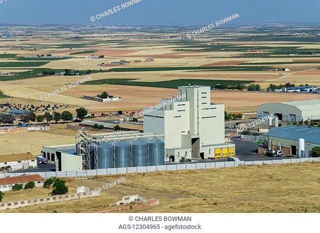 Consuegra agriculture factory; Castile-La Mancha, Spain
