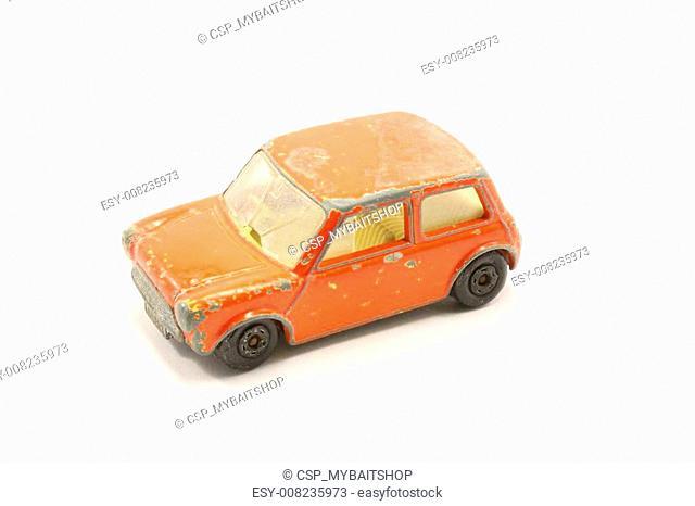 Junkyard Compact Car