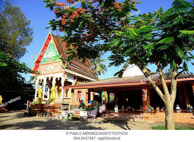 Wat Kang temple in Vang Vieng, Vientiane, Laos