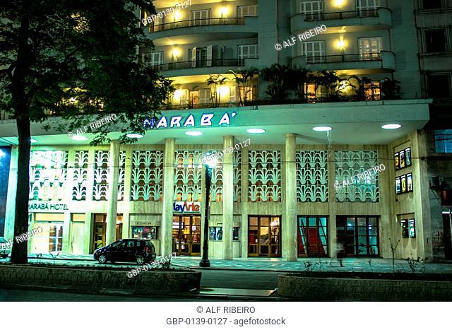Avenue Ipiranga, Cine Marabá, São Paulo, Brazil
