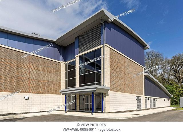 The Medburn Centre is a sports facility at Haberdashers' Aske's Boys' School incorporating a large swimming pool, gymnasium, fit
