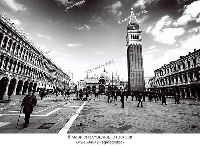 Old San Marco Square, Venezia, Italy
