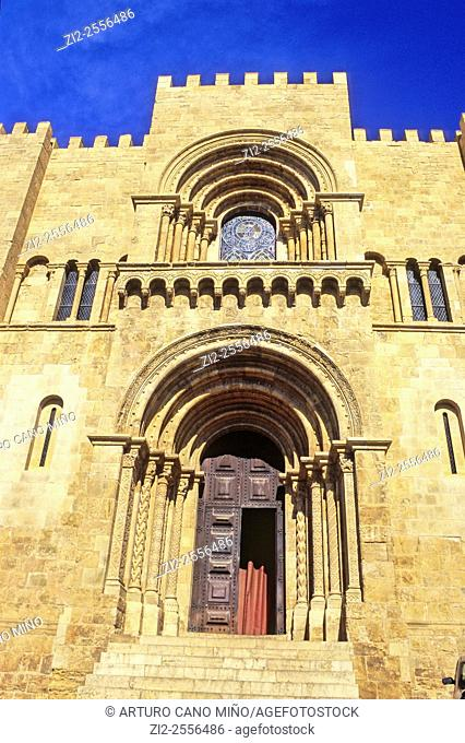 The Old Cathedral, Sé Velha, XIIth century, Romanesque. Coimbra, Portugal