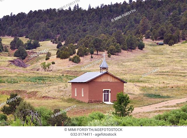 family chapel, rural New Mexico