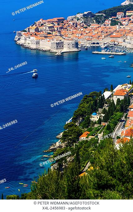 UNESCEO World Heritage Site Old Town of Dubrovnik, Dubrovnik, Dalmatia, Croatia