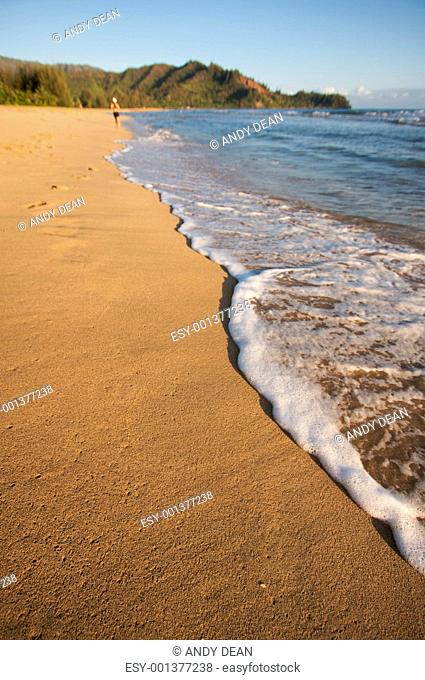 Early Monring Bay Jog on the Shoreline