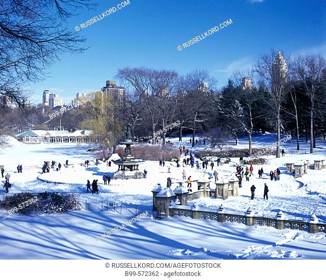 Bethesda Terrace, Central Park, Manhattan, New York, USA