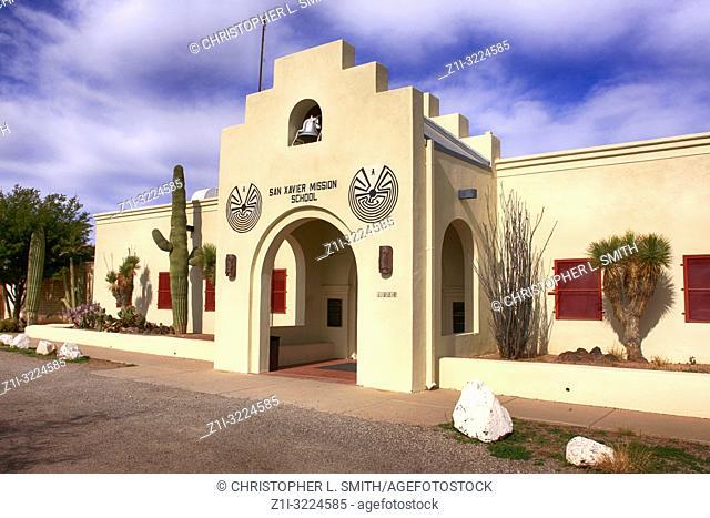 The San Xavier Mission School in Tucson AZ