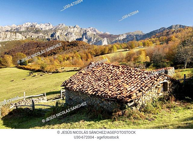 San Juan de Beleño, Ponga. Asturias. Spain