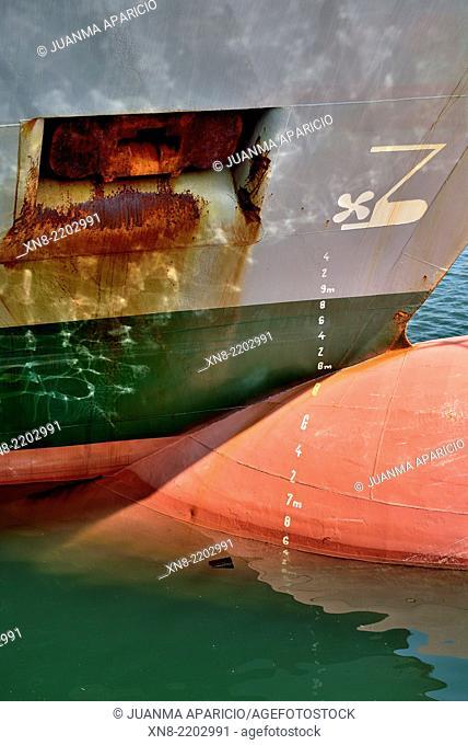 Waterline of a Vessel