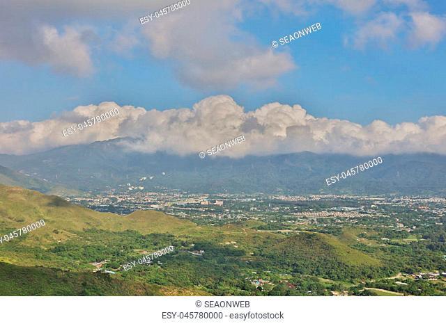 the Beautiful mountain town in Kam Tin 2016
