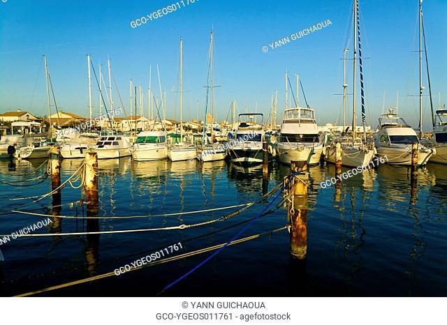 Saintes Marie De La Mer's Harbour, Camargue, France