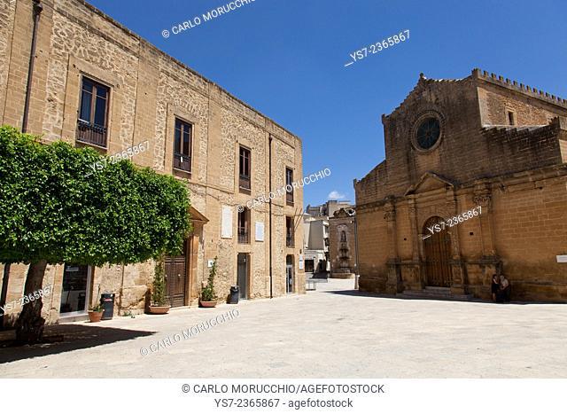 Chiesa Madre, Castelvetrano, Trapani, Sicily, Italy, Europe
