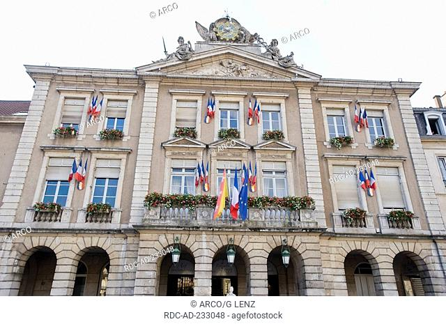City hall, Pont a Mousson, Lorraine, France, Hotel de Ville