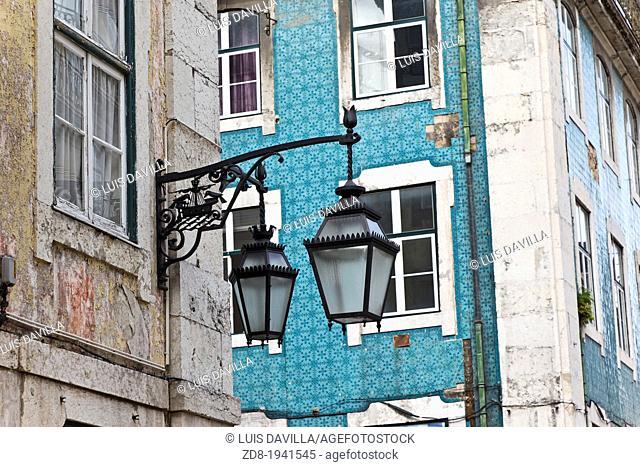 chiado town in lisbon.portugal