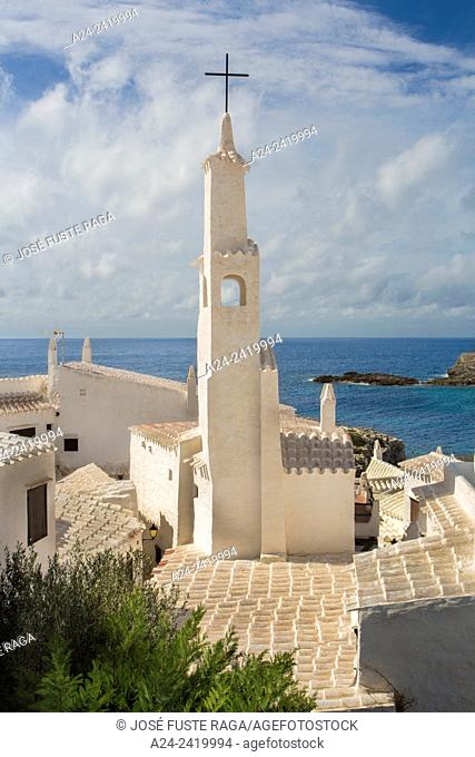 Spain , Balearic Islands, Menorca Island, Old Binibeca Fishing Village
