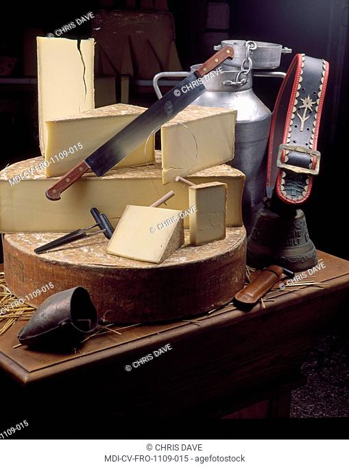 Still life - Cheese