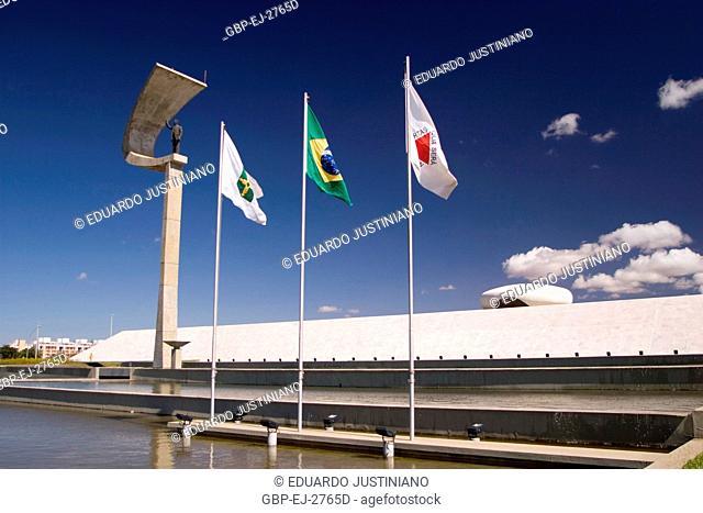 Memorial JK, Statue of Juscelino Kubitschek, Distrito Federal, Brasília, Brazil