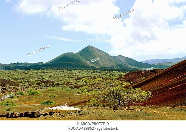 Volcano, Ascension Island, British overseas territories, South Atlantic