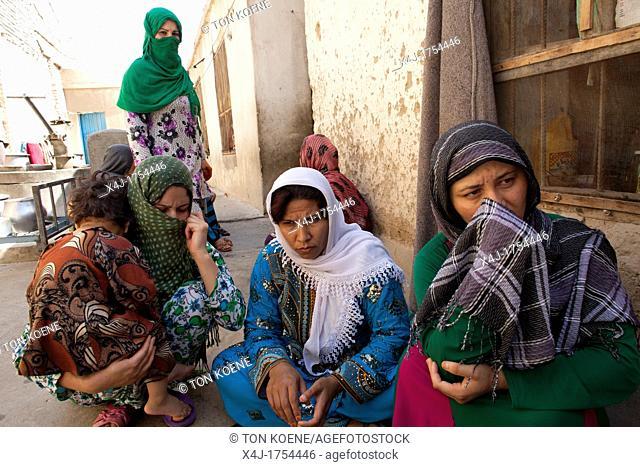 female prison in Kunduz, Afghanistan