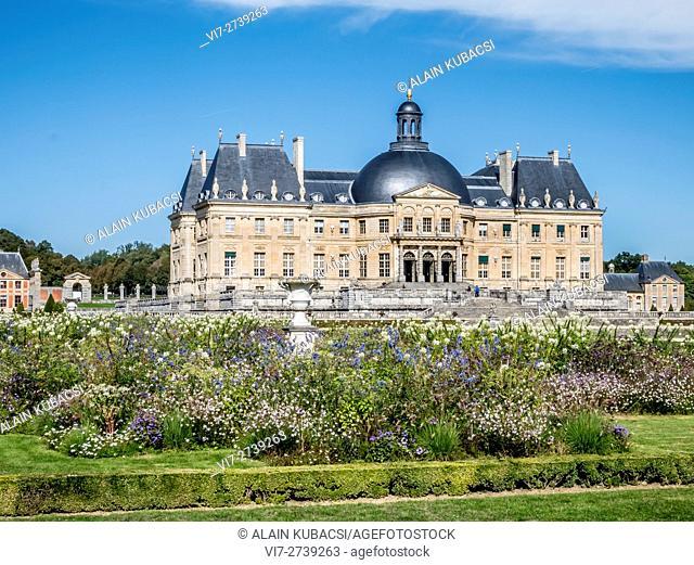 Vaux-le-Vicomte's castle, Maincy, Seine et Marne, France